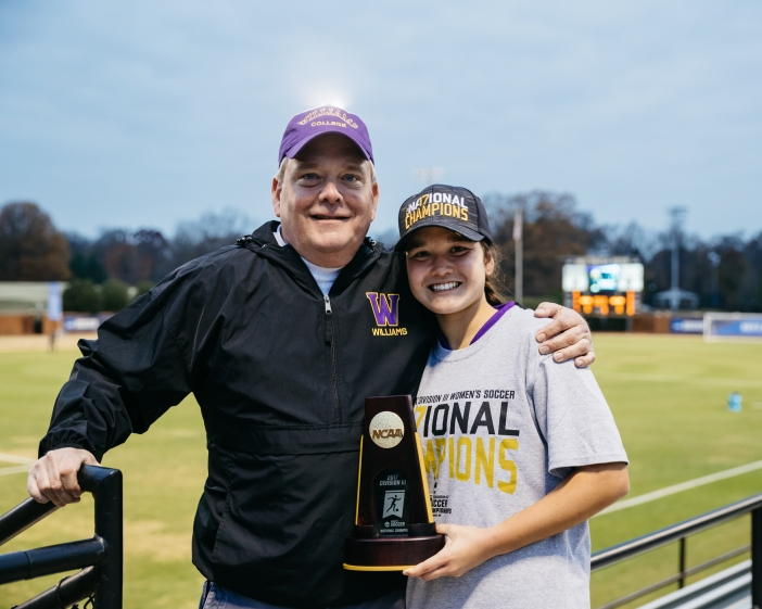 John Lord and his daughter Georgia Lord '17