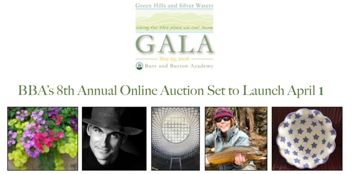 Online auction announcement email