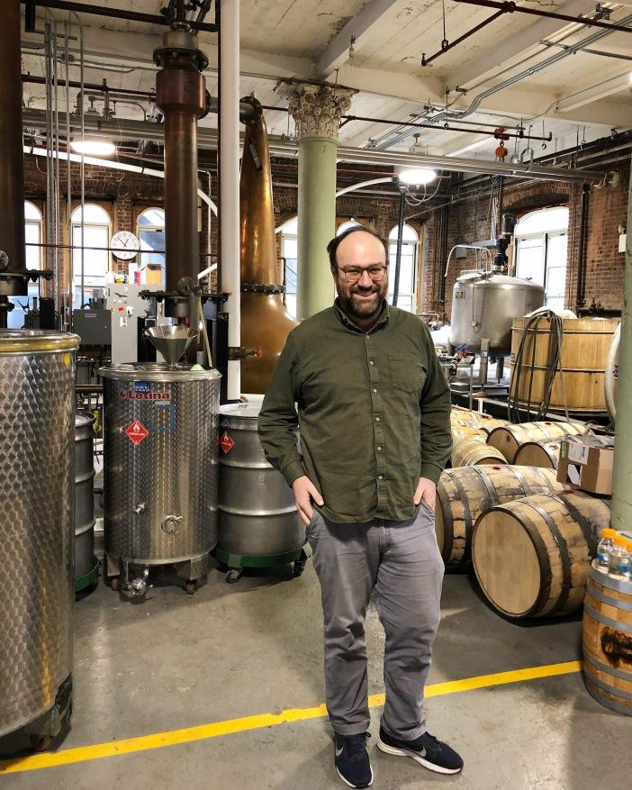 Lee Bilsky '05 Distillery